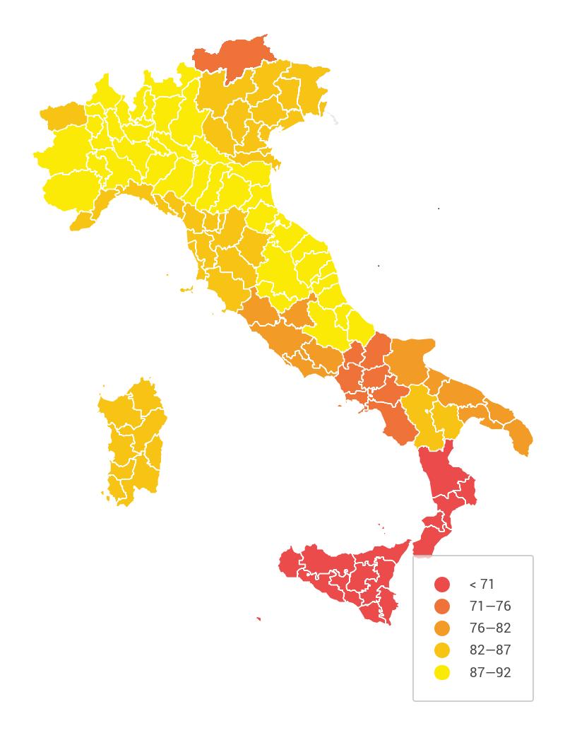 Quanti sono davvero i bambini non vaccinati in italia for Quanti sono i senatori in italia